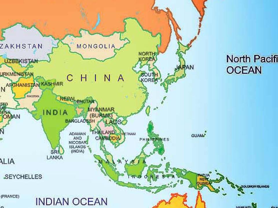 Harta India Pakistan Dacian Palladi